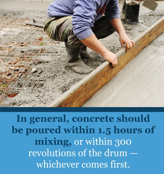 concrete pouring tips