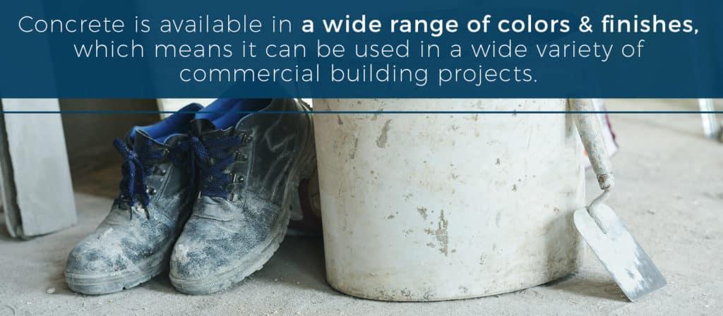 common uses of concrete